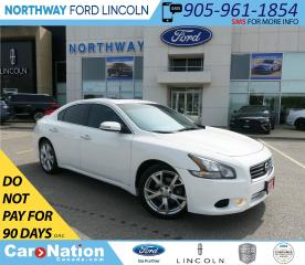 Used 2012 Nissan Maxima SV | HTD LEATHER | BACKUP CAM | SUNROOF | for sale in Brantford, ON
