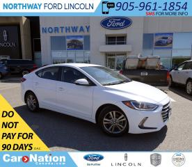 Used 2017 Hyundai Elantra GL | HTD SEATS+WHEEL | BACK UP CAM | TOUCHSCREEN | for sale in Brantford, ON