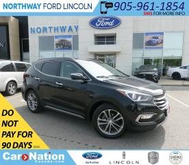 Used 2018 Hyundai Santa Fe Sport Turbo | AWD | LEATHER | PANOROOF | for sale in Brantford, ON