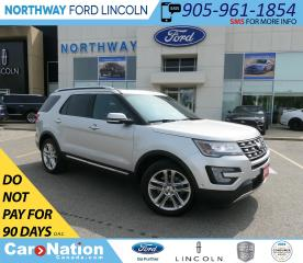 Used 2017 Ford Explorer Limited | AWD | NAV | HTD LEATHER | PANO ROOF | for sale in Brantford, ON