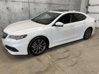 Used 2015 Acura TLX Elite package AERO V6 3.5 SH-AWD GPS ANGLE MORT ANTI COLLISION SIEGES VENTILLE CAMERA for sale in Lévis, QC