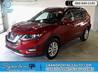 Used 2018 Nissan Rogue SV TI TOIT PANORAMIQUE*NEUF* for sale in Rivière-Du-Loup, QC