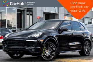 Used 2016 Porsche Cayenne S E-Hybrid|Pano.Sunroof|Backup.Cam|Bluetooth|Heat.Vent.Frnt.Seats| for sale in Thornhill, ON