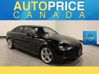 Used 2015 Audi A4 2.0T Progressiv plus S-LINE|NAVIGATION|MOONROOF| for sale in Mississauga, ON