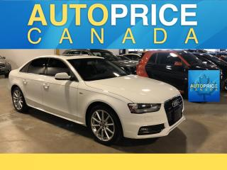 Used 2015 Audi A4 2.0T Progressiv plus S-LINE|NAVIGATION|MOONROOF for sale in Mississauga, ON