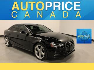 Used 2015 Audi A4 2.0T Progressiv plus S-LINE|NAVIGATION|MOONROOF. for sale in Mississauga, ON