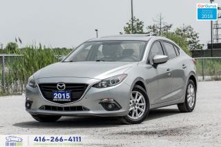 Used 2015 Mazda MAZDA3 TOURING 1 Owner Sunroof NavGpsRCam NewTires&Brakes for sale in Bolton, ON