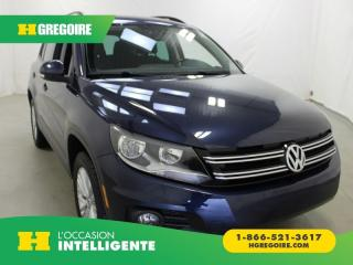 Used 2016 Volkswagen Tiguan édition Sp. Awd for sale in St-Léonard, QC