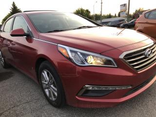 Used 2017 Hyundai Sonata GL Nice with Heated Seats, BackupCam, Bluetooth, Cruise, Pwr Windows, Keyless Entry, Alloys and more! for sale in Kemptville, ON