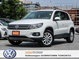 Used 2017 Volkswagen Tiguan Wolfsburg for sale in Toronto, ON