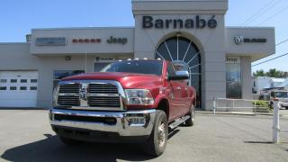 Used 2012 RAM 2500 LONGHORN MEGA CAB / NAV / CAMERA / BLUET for sale in Napierville, QC