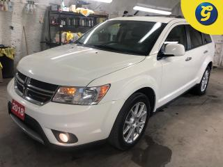 Used 2018 Dodge Journey GT * AWD * Leather * 8.4 inch touchscreen U connect * Remote Start * 7 passenger * Push button ignition * Park assist * Heated front seats/steering wh for sale in Cambridge, ON