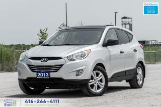 Used 2013 Hyundai Tucson AWD PanoRoof AutoStartCertifiedServicedCarfaxClean for sale in Bolton, ON