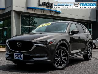 Used 2017 Mazda CX-5 GT- TECH PKG, LEATHER, MOONROOF, BOSE, BLUETOOTH, REAR CAMERA, LED HEADLIGHTS for sale in Burlington, ON
