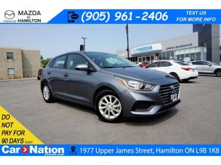 Used 2019 Hyundai Accent PREFERRED |APPLE CARPLAY & ANDROID | REAR CAM for sale in Hamilton, ON