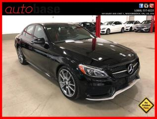 Used 2016 Mercedes-Benz C-Class C450 AMG 4MATIC PREMIUM AMG STEERING WHEEL 19'S for sale in Vaughan, ON