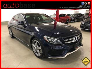 Used 2018 Mercedes-Benz C-Class C300 4MATIC PREMIUM PLUS SPORT LED CLEAN CARFAX! for sale in Vaughan, ON