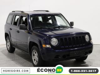 Used 2012 Jeep Patriot SPORT A/C GR ELECT for sale in St-Léonard, QC