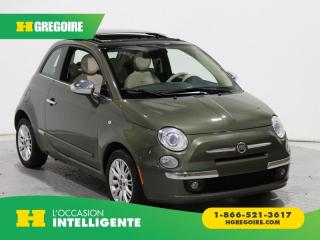 Used 2014 Fiat 500 LOUNGE GR ELECT for sale in St-Léonard, QC