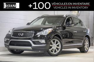 Used 2016 Infiniti QX50 2016 Infiniti QX50 JOURNEY ! CAMERA, BLUETOOTH! for sale in Montréal, QC