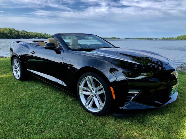 2018 Chevrolet Camaro SS With ONLY 3550 km 6 Speed Manual