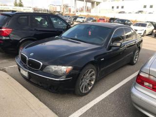 Used 2007 BMW 7 Series 750i for sale in Oakville, ON
