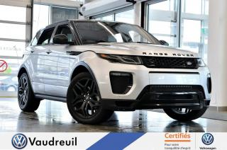 Used 2016 Land Rover Evoque for sale in Vaudreuil-Dorion, QC