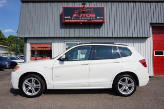 Used 2014 BMW X3 Xdrive28i Xdrive + M for sale in Lévis, QC