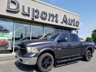 Used 2018 RAM 1500 Outdoorsman cabine d'équipe 4x4 caisse d for sale in Alma, QC