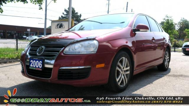 2006 Volkswagen Jetta 2.5L|LEATHER SEATS|HEATED SEATS|SUNROOF