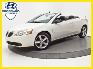 Used 2008 Pontiac G6 Gt Convertible Cuir for sale in Brossard, QC