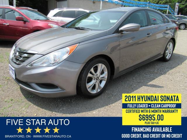 2011 Hyundai Sonata GLS *Clean Carproof* Certified w/ 6 Month Warranty