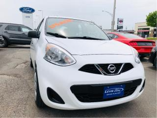 Used 2015 Nissan Micra S for sale in Lévis, QC