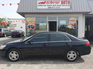 Used 2007 Honda Accord EX-L for sale in Niagara Falls, ON