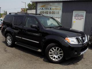 Used 2009 Nissan Pathfinder ***LE,7 PLACES,4X4,CUIR,TOIT,DVD*** for sale in Longueuil, QC