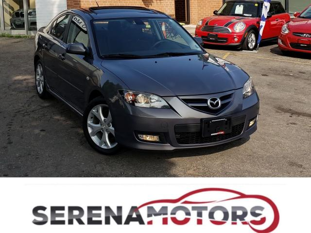 2007 Mazda MAZDA3 GT | MANUAL | SUNROOF | HEATED SEATS | NO ACCIDENT