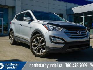 Used 2015 Hyundai Santa Fe Sport LTD AWD/LEATHER/NAV/PANOROOF/COOLEDSEATS for sale in Edmonton, AB