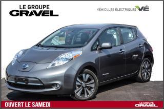 Used 2016 Nissan Leaf SL CUIR - GPS -  CAM 360 - BATTERIE 12/12 for sale in Ile-des-Soeurs, QC