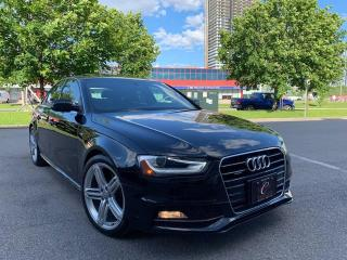 Used 2015 Audi A4 SLINE TECNIK NAVI CAM WOW 34K WARRANTY LIKE NEW for sale in Concord, ON
