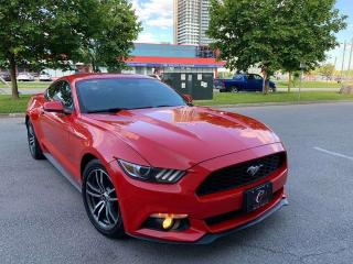 Used 2015 Ford Mustang LEATHER NAVI CAM BLNSPT NO ACIDENT WARANTY 4CY for sale in Concord, ON
