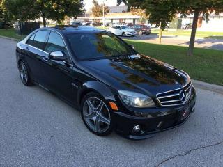 Used 2009 Mercedes-Benz C-Class 6.3L AMG 4dr RWD 4 Door Sedan for sale in Concord, ON