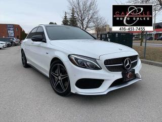Used 2016 Mercedes-Benz C-Class C450 NAVI 360CAM AMG PKG 42K for sale in Concord, ON