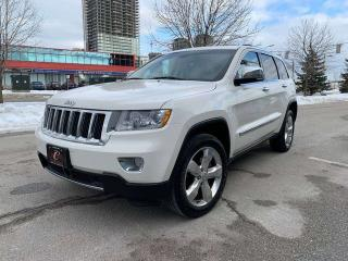 Used 2012 Jeep Grand Cherokee Overland 4dr 4WD Sport Utility Vehicle for sale in Concord, ON