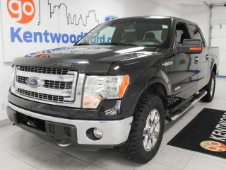 Used 2014 Ford F-150 XLT XTR 6 passenger 4x4 with power drivers seat and back up cam for sale in Edmonton, AB