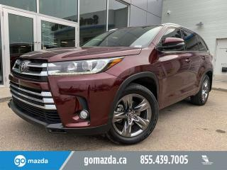 Used 2017 Toyota Highlander LIMITED AWD FULL LOAD GREAT COLOR COMBO for sale in Edmonton, AB