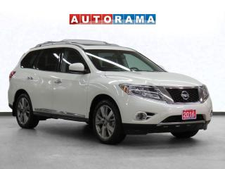 Used 2016 Nissan Pathfinder Platinum 4WD Navigation Leather Sunroof Backup Cam for sale in Toronto, ON