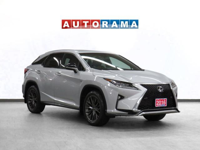 2016 Lexus RX 350 F-Sport Navigation Leather Sunroof Backup Cam