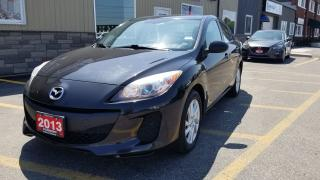 Used 2013 Mazda MAZDA3 GS-SKY-BLUETOOTH-HEATED SEATS-ALLOY WHEELS for sale in Tilbury, ON