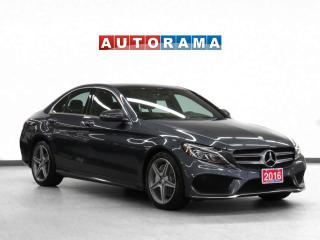 Used 2016 Mercedes-Benz C 300 AMG Pkg 4Matic Navigation Leather Sunroof for sale in Toronto, ON