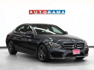 Used 2016 Mercedes-Benz C 300 AMG Pkg 4Matic Navigation Leather Sunroof BCam for sale in Toronto, ON